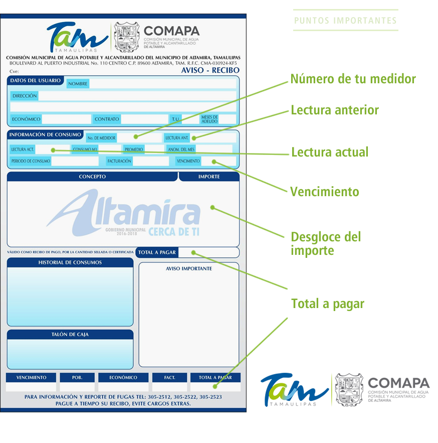 Comapa Altamira 2016 - 2018